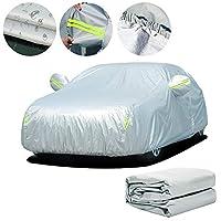 カーカバーに適用するMercedes-Benz GLC300,防水防雪防塵傷耐性防UV車カバー全天候型屋外車保護カバーに(オックスフォード生地)