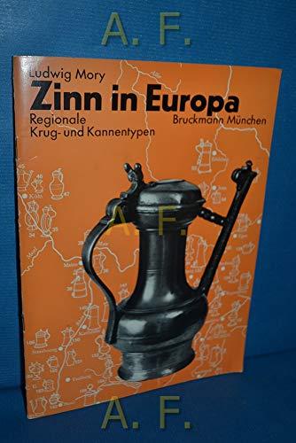 Zinn in Europa. Regionale Krug- und Kannentypen