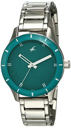 Fastrack Analog Green Dial Women's Watch-NK6078SM01
