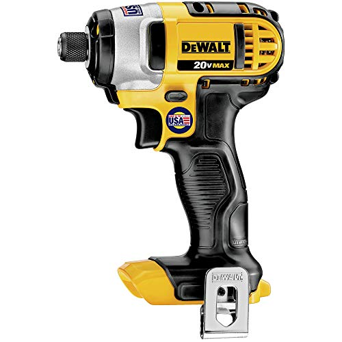 Dewalt DCF885BR 20V MAX Cordless Lithium-Ion 1/4 in. Impact Driver (Bare Tool) (Renewed)