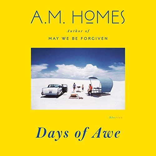 Days of Awe     Stories              By:                                                                                                                                 A. M. Homes                               Narrated by:                                                                                                                                 full cast                      Length: 9 hrs and 2 mins     10 ratings     Overall 3.4