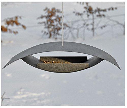 VOSS.garden Vogelfutterhaus Seagull Exclusives dänischen Design - Vogelhaus Vogelstation Futterhaus Vogelhäuschchen Futterhaus Vogelfutterstation