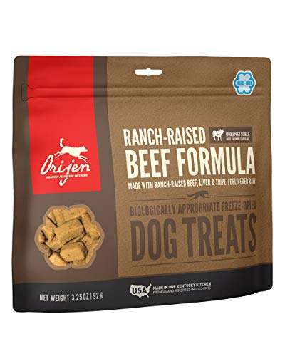 Orijen Dog Treat Freeze Dried - Ranch-Raised Beef - 92 g