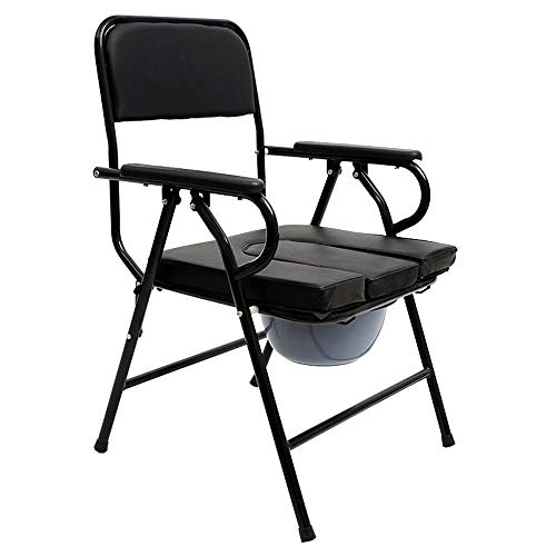 YQQWN Bedside Commode Toilet Chair Portable Toilet Protection, Bedside Commode, Commode Seat Elder People Disabled People Pregnant Women Commode, Can Be Used As Raised Toilet Seat Riser