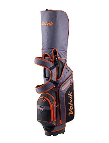 Volvik 20176-Way Sac de Golf trépied, Stand Bag, Orange