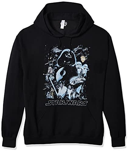 Star Wars Unisex-Adult's Men's Galaxy of Graphic T-Shirt, Black //...