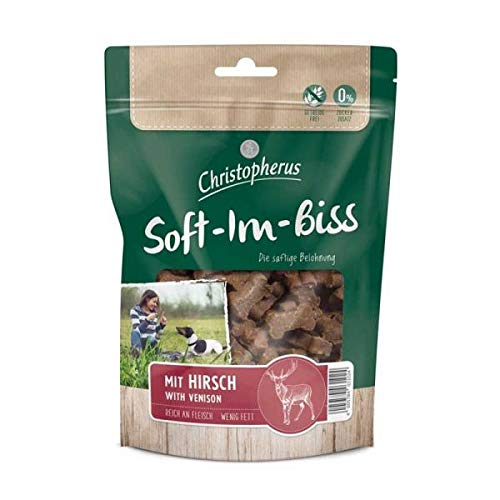 Allco Christopherus Snacks Soft-Im-Biss mit Hirsch 125 g