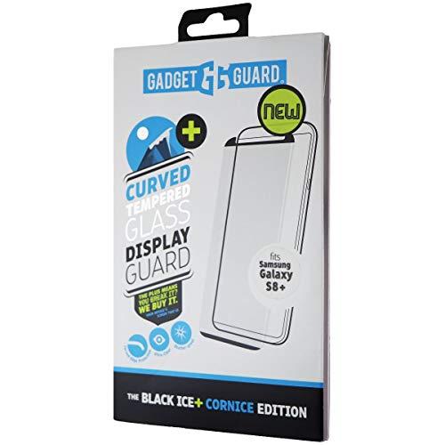 Gadget Guard - Protector de pantalla para Samsung Galaxy S8 Plus (cristal curvado), color negro