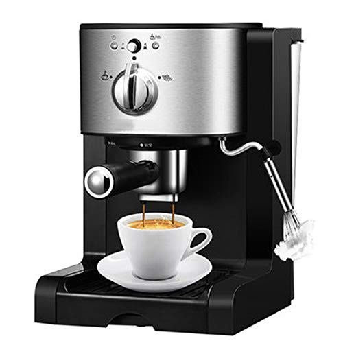 Cafetera Tipo De Bomba,1350W 20 Bar Semiautomático Cafetera Exprés para Café Capuchino,para La Oficina En Casa