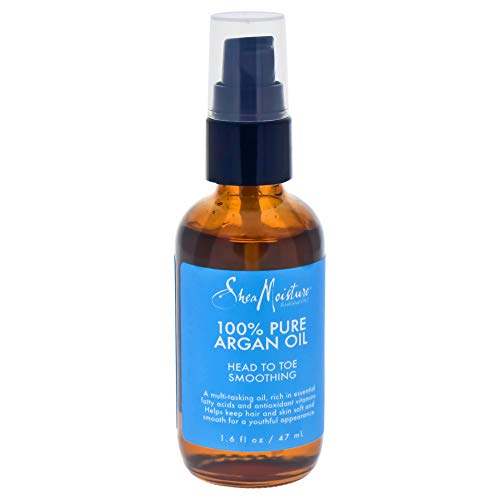 100% Pure Argan Oil Head To Toe Smoothing by Shea Moisture for Unisex - 1.6 oz Oil