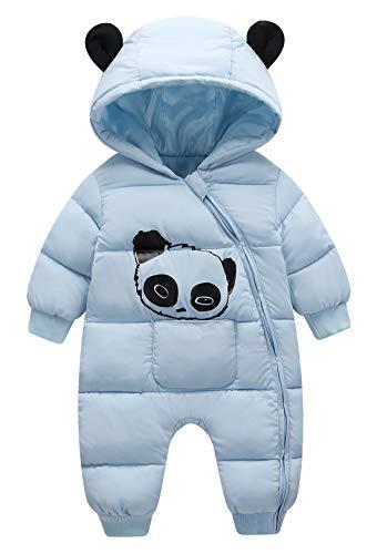 Baby Snowsuit One Piece Jumpsuit Winter Warm Jacket Windproof Cute Toddler Snowsuit Romper Winter