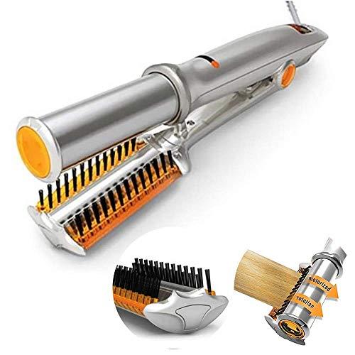 WSNDG Cepillo multifuncional para alisar el cabello en seco y húmedo Cepillo para peinar, LCD...