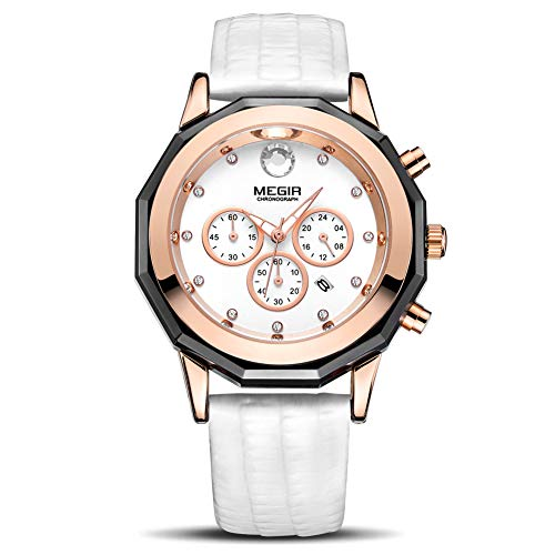 MEGIR Men Analog Luminous Casual...