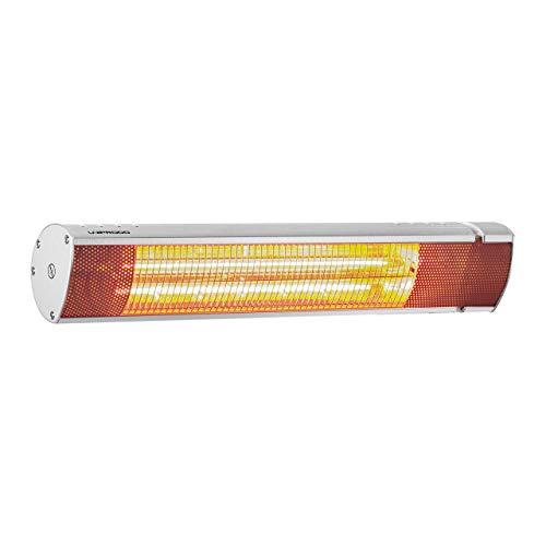 Uniprodo Lampada Riscaldante Infrarossi Da Esterno Fungo Riscaldante Elettrico UNI_HEATER_07 (2.000 W, Alluminio)