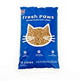 Fresh Paws Premium Wood Pellet Cat Litter, 15 L