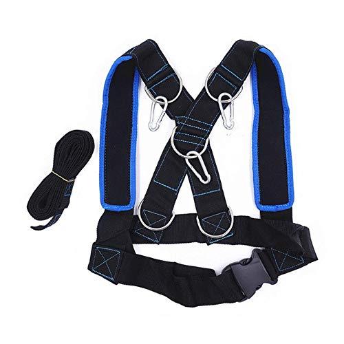 Zzxx Speed running training slee schouderharnas, dragende vest thuis fitnessapparatuur
