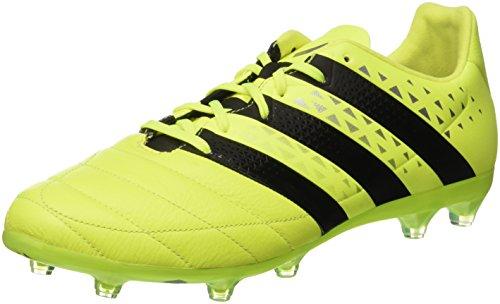 adidas Ace 16.2 FG Leather, Botas de fútbol para Hombre, Amarillo (Amasol/Negbas/Plamet), 42 2/3 EU