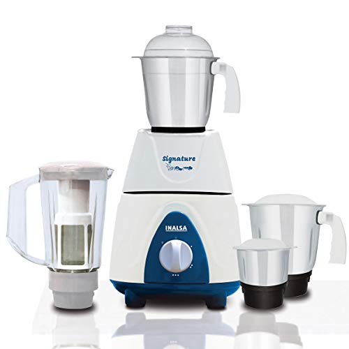 Inalsa Mixer Grinder Signature 750W ,1.5L Break Resistant Blender Jar with Fruit...