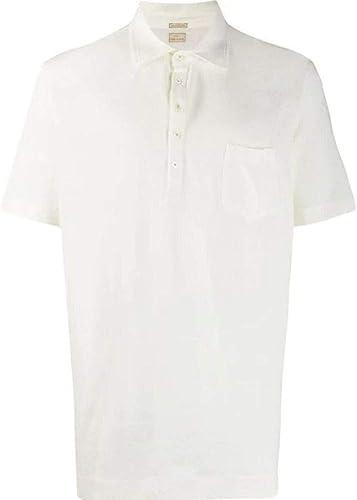 MASSIMO ALBA Homme 15U0WEMBLJ0042U001 Blanc Lin Polo
