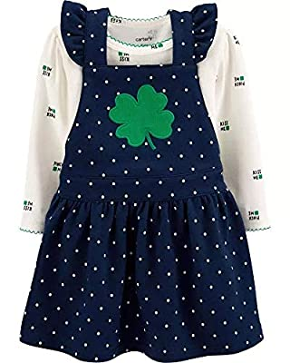Carter's St Patricks Day Dress with Shamrock for Baby Girls (3 Months)