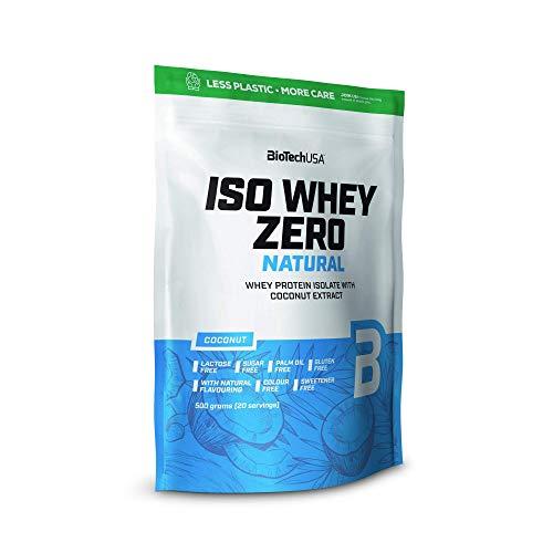 BioTechUSA Iso Whey Zero Natural, Coconut - 500g