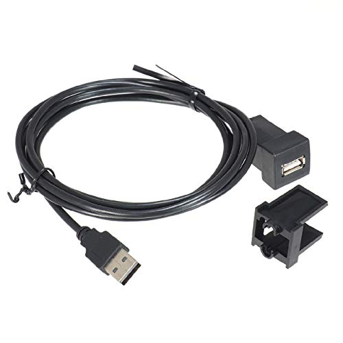 ビートソニック USB延長ケーブル USB13 トヨタ/ダイハツ車用 スペアスイッチホールがUSB入力端子に変身 純...