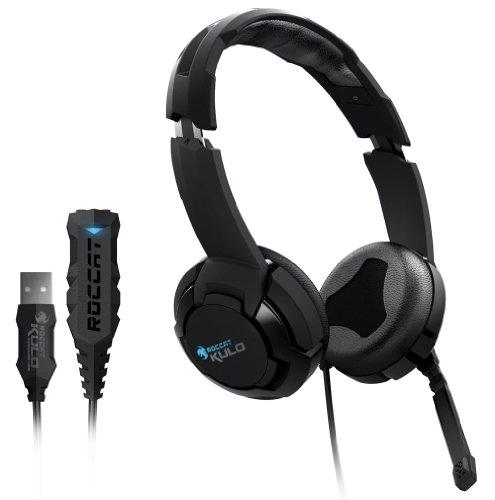 Roccat Kulo Virtual 7.1 Surround USB Gaming Headset schwarz