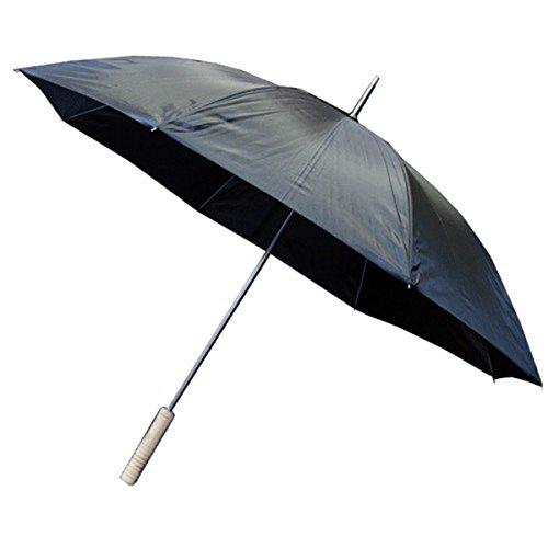 Pack 10 Paraguas automáticos con Mango de Madera (diámetro: 1m/Longitud: 84 cm)
