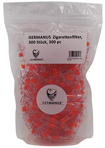 GERMANUS Mini Filter Spitze - Großpackung - Filterspitze Zigarettenfilter