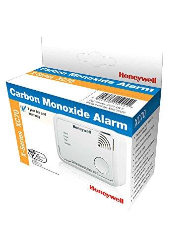 Honeywell XC70Alarma X-Series con de monóxido de Carbono