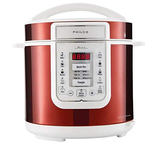 Panela de pressão, Retrô Ppp01vb, 6L, Vermelho, 110v, Philco