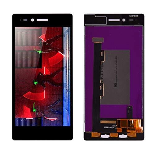 Pantallas LCD para teléfonos móviles Pantalla LCD con Montaje digitalizador de Pantalla táctil/Ajuste para Lenovo Vibe Shot Z90 Z90A40 Z90-7 Z90-3 (Color : Black)