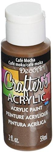 DecoArt Crafter's Acrylic Paint, 2-Ounce, Cafe Mocha