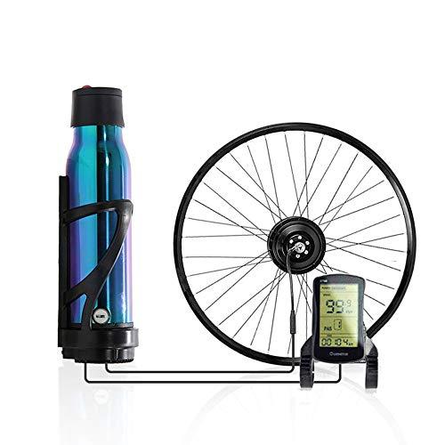 """CARACHOME Ebike nachrüstsatz, Hochwertiges E-Bike-Umrüstkit mit Batterie, 36-V / 350-W-E-Bike-Hinterradnaben-Motorkit, Schnellinstallation Einfaches Design,A,Cassette 26\"""""""