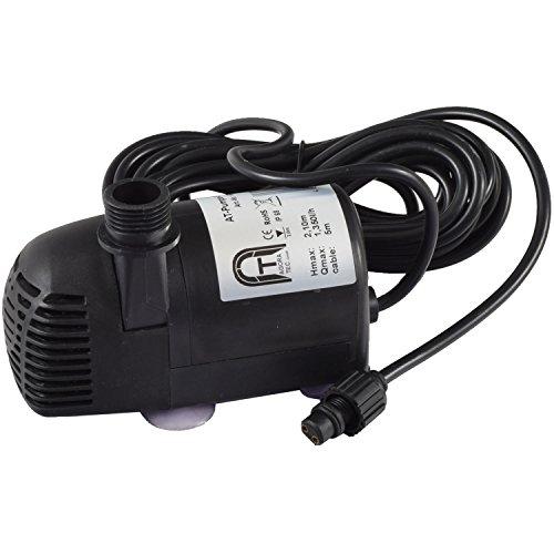 Agora-Tec® Ersatzpumpe Solar Teichpumpen-Set AT-20W