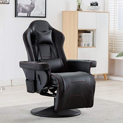 Aobabo Gaming Chair/Reclining Gaming Chair/Adjustable headrest and Lumbar Support chair gaming