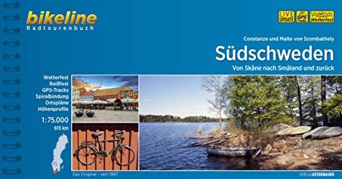 Südschweden: Von Skåne nach Småland und zurück. 1:75.000, 615 km (Bikeline Radtourenbücher)