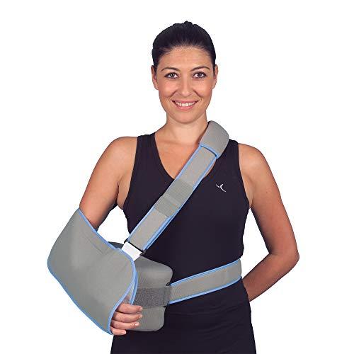 Ortesis de secuestro de hombro de 15 pulgadas, disponible en 4 tamaños S-XL