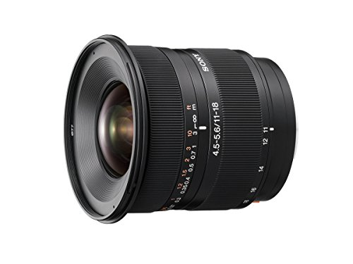 Sony dt 11-18mm f/4. 5-5. 6 aspherical ed super wide angle zoom lens for sony alpha digital slr camera