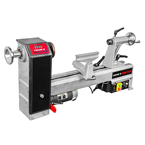 Nova 71118 Comet II DR - Midi Lathe Flexible Woodworking...