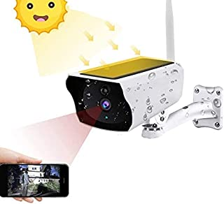 YOTOCOOL Wireless Solar Energy Outdoor Security Camera, IP67 Waterproof Night Vision Two-Way Audio Ptz Zoom Motion Detecti...