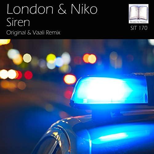 ロンドン & Niko