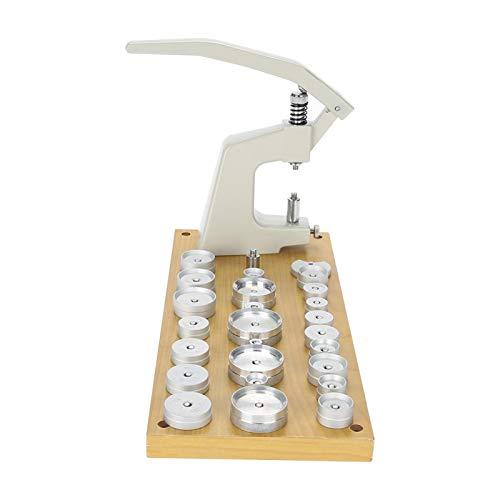 Máquina de prensa de reloj Prensa de caja de reloj con 25 troqueles para reemplazar la batería