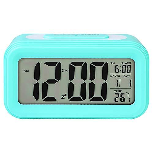XYBB Wekker Multifunctionele Digitale Alarm Klok Led Smart Licht Temperatuur Kalender Voor Kantoor Student