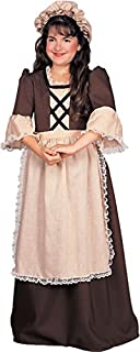 Rubie's Child's Colonial Girl Costume, Large