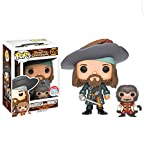 Funko Pop Pirates of the Caribbean Barbossa with Monkey NYCC 2016 Exclusive Vinyl Figure LE 1000