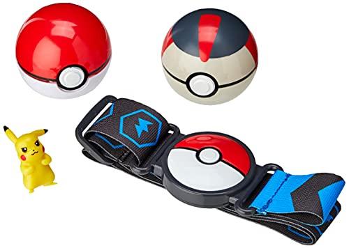 Pokemon PoKéMoN 674 95283S Clip 'N' Go Poke Ball Belt Set-Pikachu,...