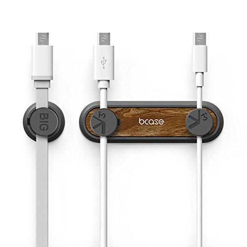 ZooooM マグネット ケーブル キャッチャー ホルダー 磁石 USB マイクロ 充電 器 デスク 鍵 カギ 整頓 パソコン 周り スマホ スマートフォン 仕事 ワーク 机 玄関 オシャレ インテリア 整理 配線 職場 クリップ (カラー:ブラウン) Z