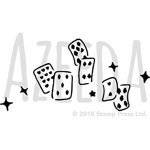 Azeeda A3 'Kartenspielen' Wandschablone / Vorlage (WS00010104)