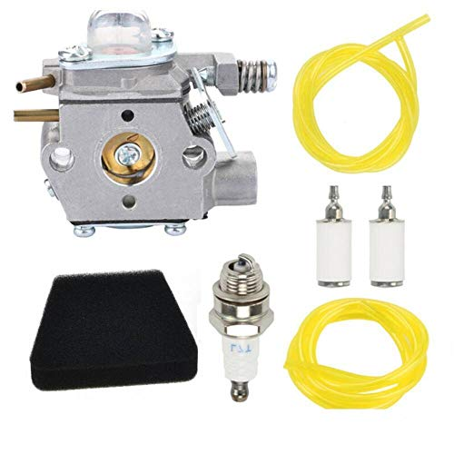 DFYYQ Carburetor Carb compatible for Poulan for Weed Eater 530069990 530069754 530071635 kit